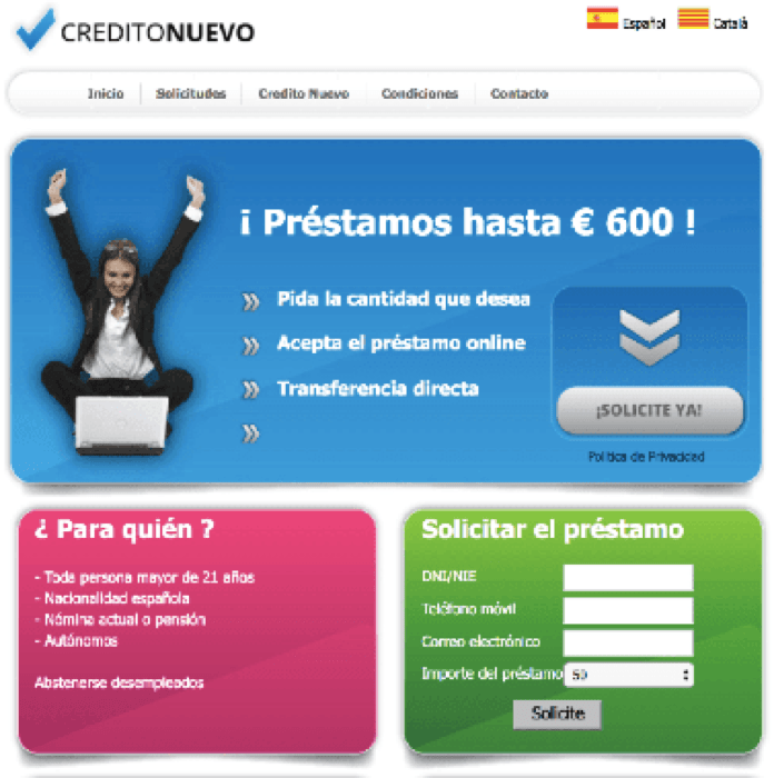 prestamos hasta 100 euros sin aval ni nomina