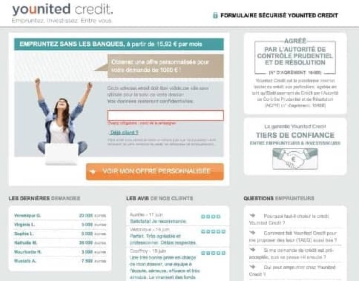 YouUnited Credit - Hasta 40 000 €